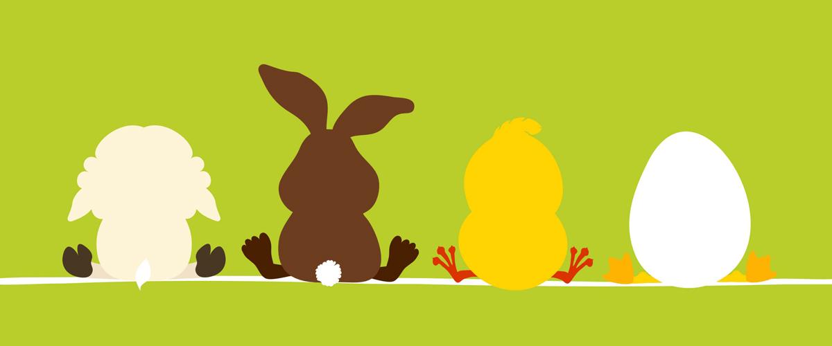 Ostern - Pralinen in Ei Form