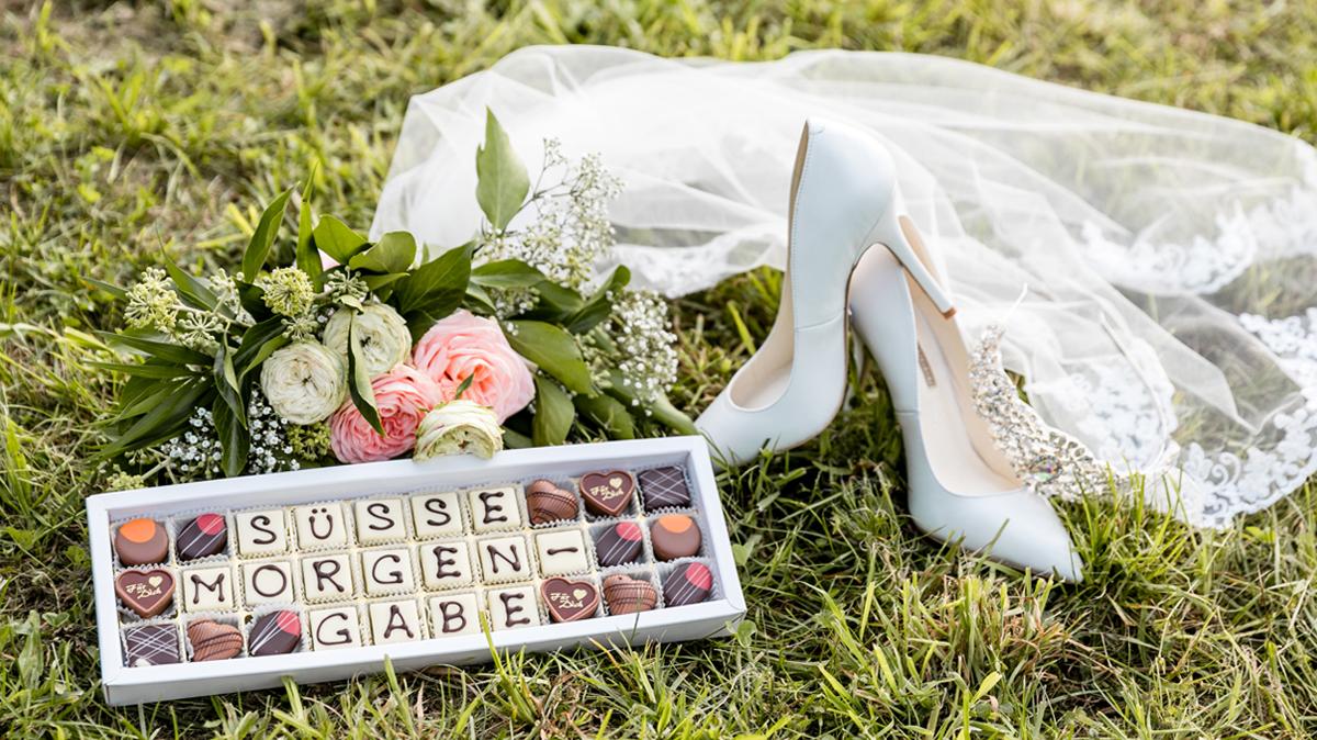 Süße Morgengabe zur Hochzeit