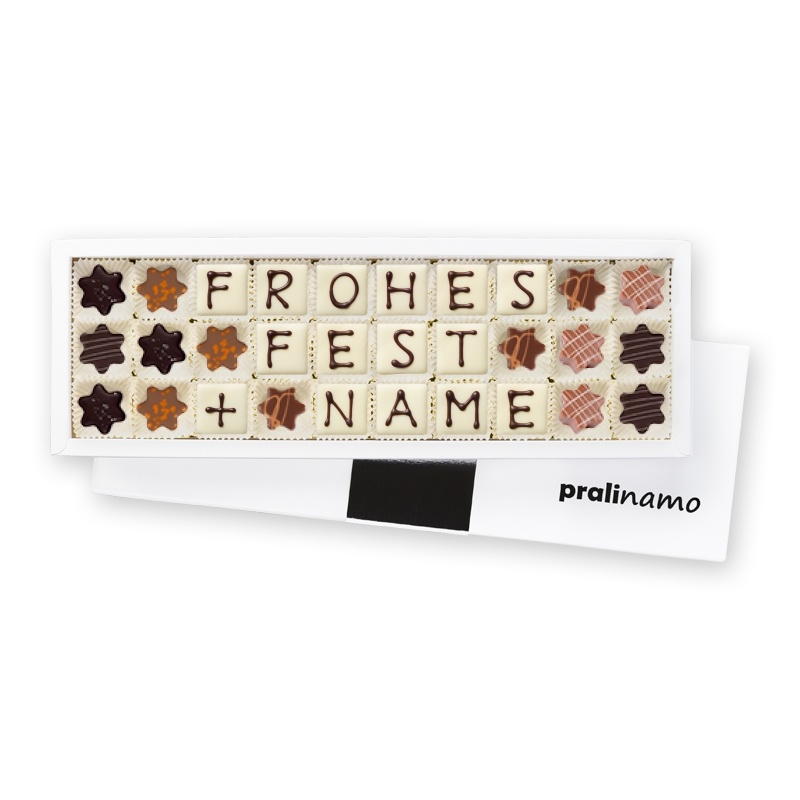 Frohes Fest + Name