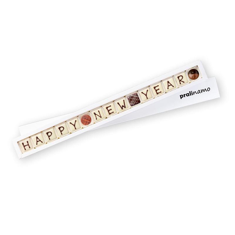 HAPPY NEW YEAR - Pralinen 15er