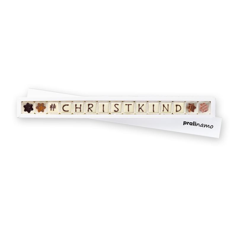 """""""Hashtag"""" #CHRISTKIND - Pralinen 15er"""