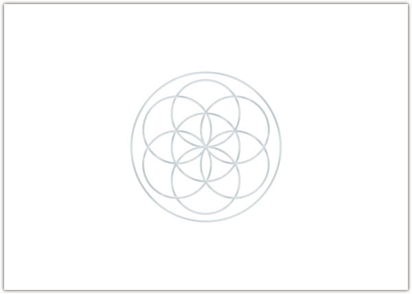 "Grußkarte ""Mandala"""