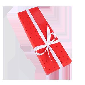 Geschenkverpackung Red Hearts